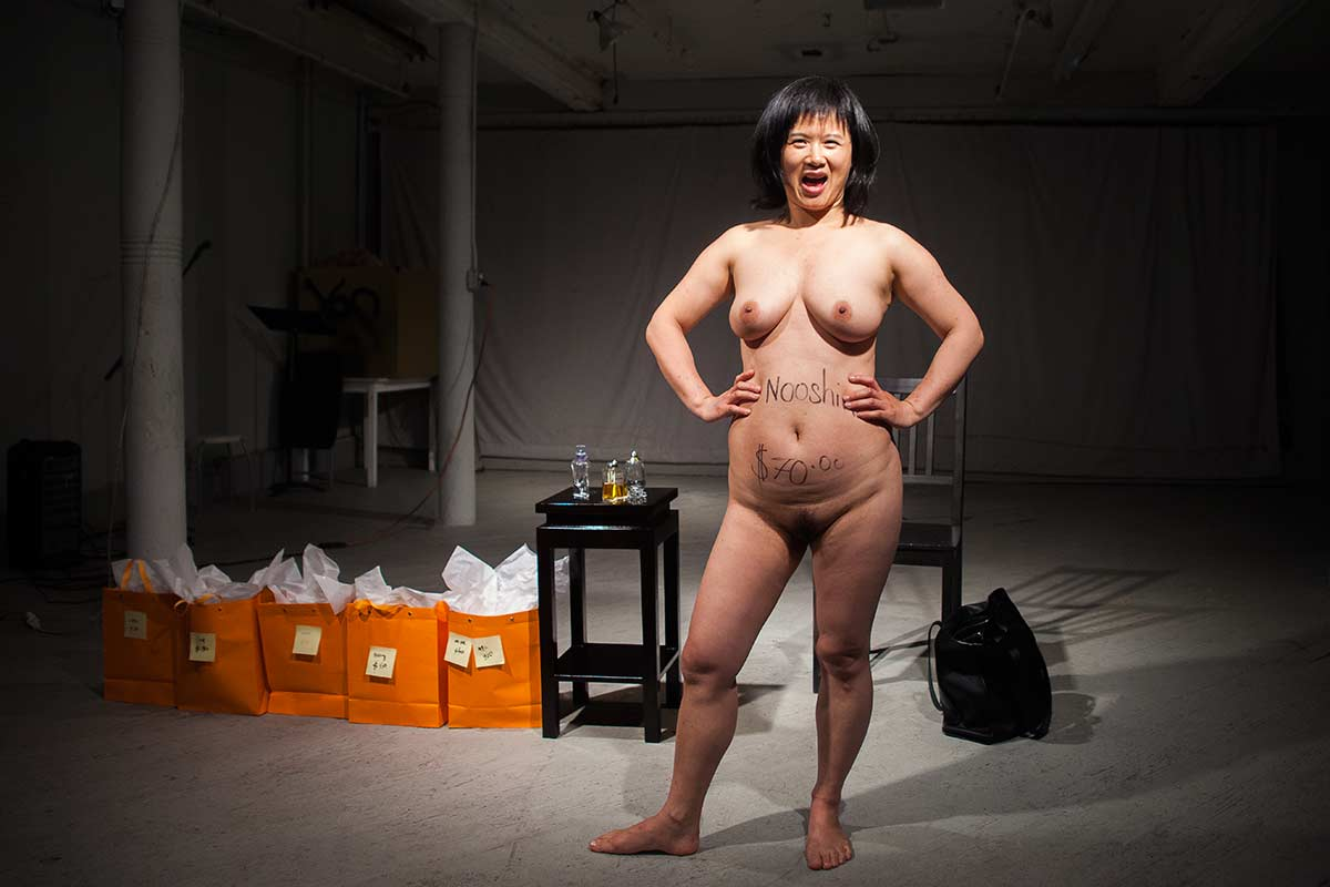Chun Hua Catherine Dong sold herself to an audience for $70 for a night