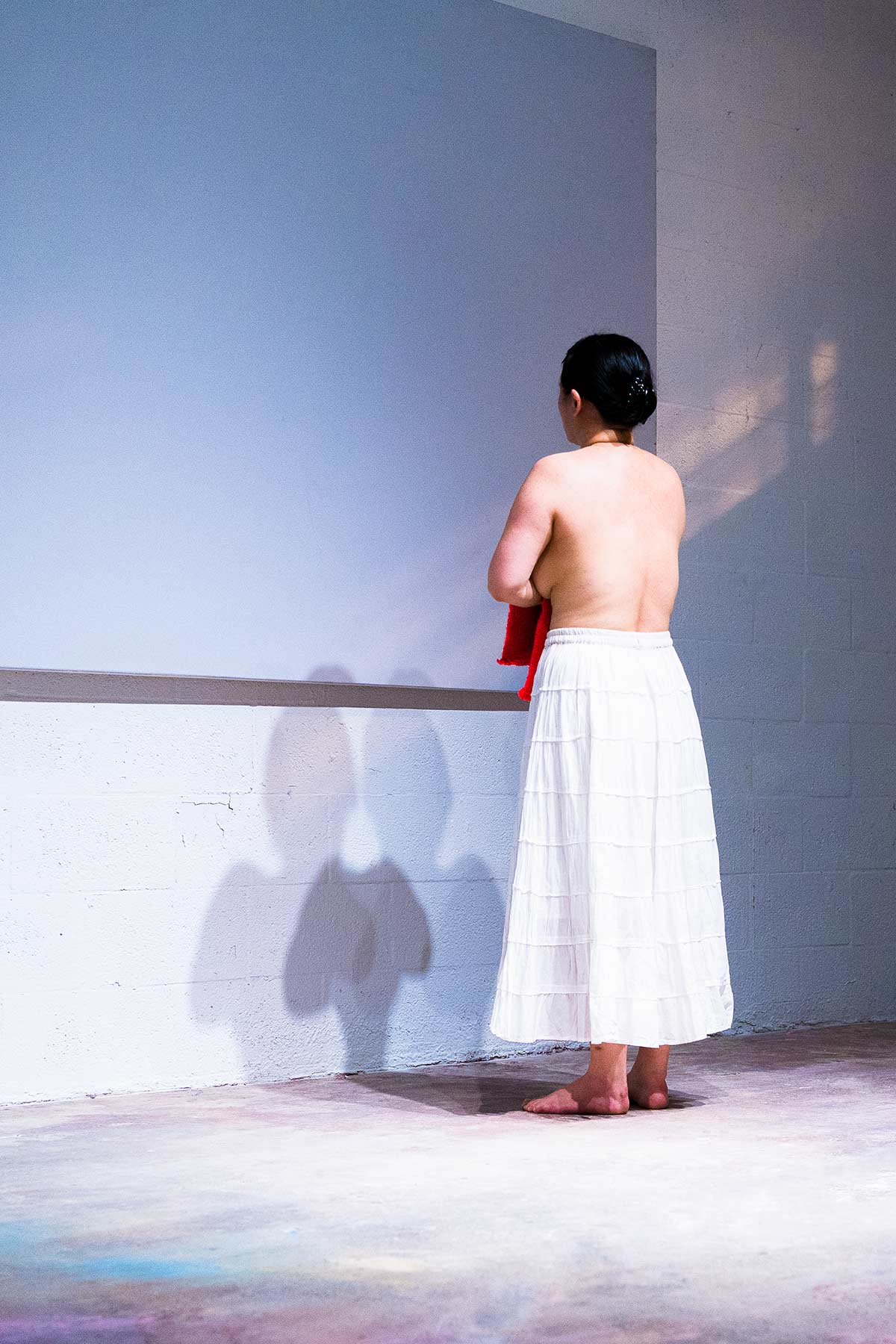 Chun Hua Catherine Dong's performance at Miami Performance International Festival in 2016
