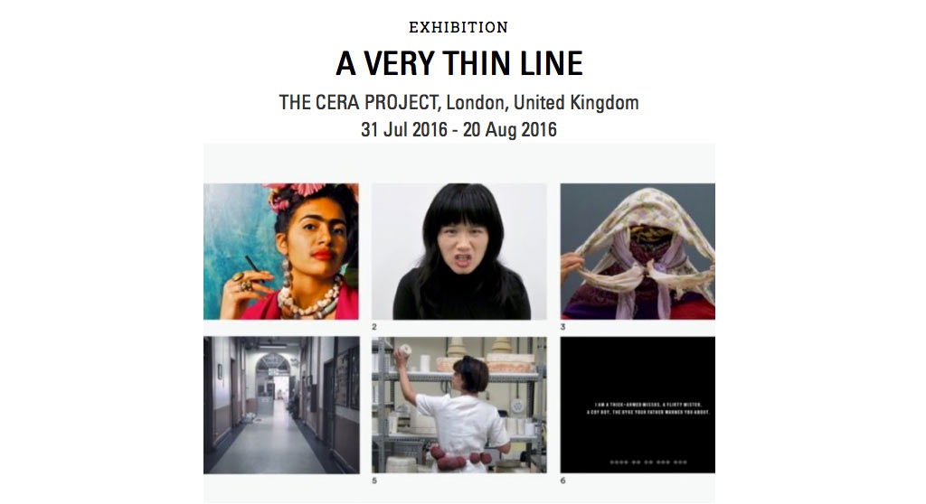 Chun Hua Catherine Dong's exhibition in London