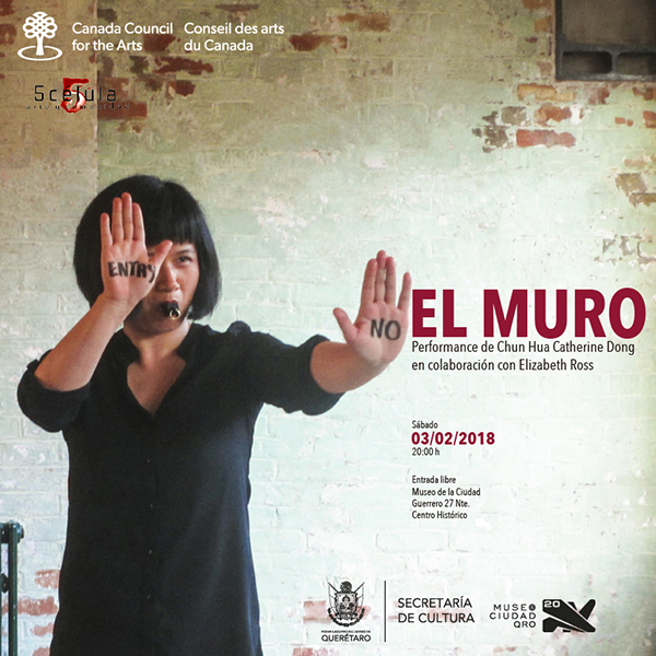 Chun Hua Catherine Dong's performance in a museum in Mexico